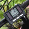 BoGeer YT - 812B Noctilucent Cycling Computer Odometer - BLACK