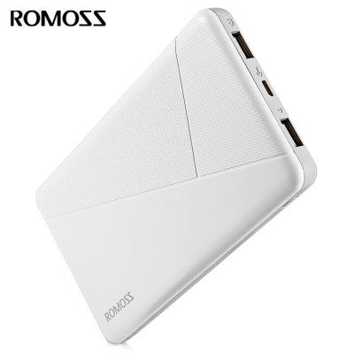 ROMOSS PIE 10 10000mAh Power Bank Dual USB 2.1A Output