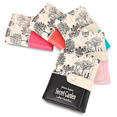 Guapabien Park Scenery PU Leather Snap Fastener Short WalletWallets<br>Guapabien Park Scenery PU Leather Snap Fastener Short Wallet<br><br>Closure Type: Snap Fastener<br>Color: Watermelon red, blue, pink, rose red, black<br>Gender: For Girls<br>Height: 11.5<br>Length(CM): 9<br>Main Material: PU Leather<br>Package Contents: 1 x Wallet<br>Package size (L x W x H): 9.50 x 2.00 x 12.00 cm / 3.74 x 0.79 x 4.72 inches<br>Package weight: 0.096 kg<br>Pattern Type: Plant<br>Product weight: 0.074 kg<br>Style: Casual<br>Wallets Type: Standard Wallets<br>Width: 1.5