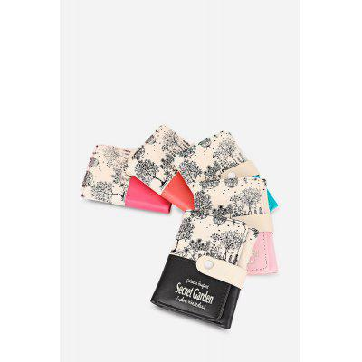 Guapabien Park Scenery PU Leather Snap Fastener Short WalletWallets<br>Guapabien Park Scenery PU Leather Snap Fastener Short Wallet<br><br>Closure Type: Snap Fastener<br>Color: Watermelon red, blue, pink, rose red, black<br>Gender: For Girls<br>Height: 11.5<br>Length(CM): 9<br>Main Material: PU Leather<br>Package Contents: 1 x Wallet<br>Package size (L x W x H): 9.50 x 2.00 x 12.00 cm / 3.74 x 0.79 x 4.72 inches<br>Package weight: 0.0960 kg<br>Pattern Type: Plant<br>Product weight: 0.0740 kg<br>Style: Casual<br>Wallets Type: Standard Wallets<br>Width: 1.5