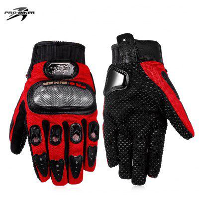 Buy RED L PROBIKER MCS 01A Motorcycle Racing Gloves for $8.28 in GearBest store