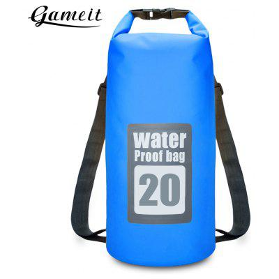 Gameit 20L Water Resistant Roll-top Dry Backpack