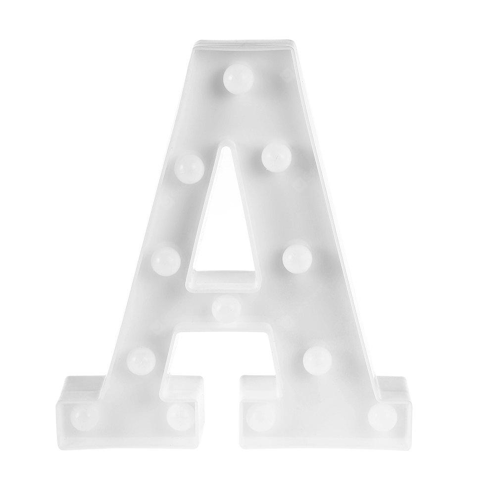 3D Marquee Letter Symbol LED Night Light Decoration Lamp