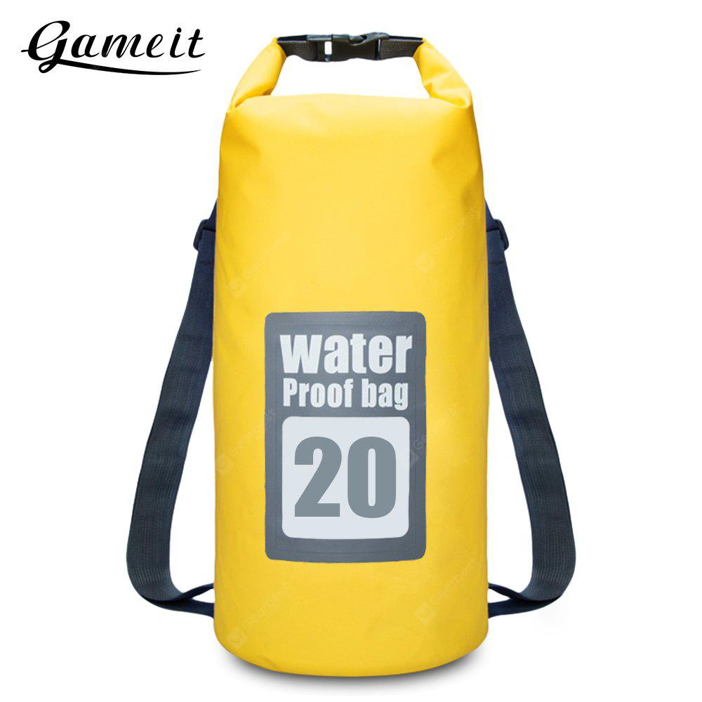 Gameit 20L Resistente à água Roll-top Dry Backpack