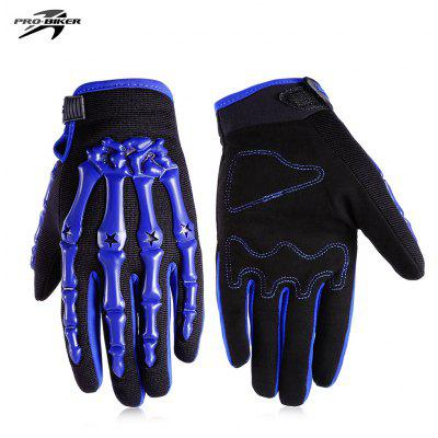 Buy BLUE L PROBIKER CE 04 Motorcycle Racing Gloves for $11.39 in GearBest store