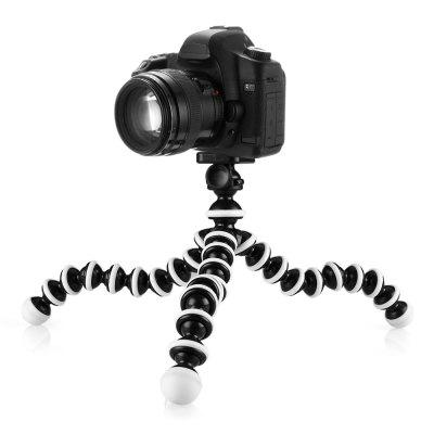 02 Portable Flexible Octopus Tripod for Many Camera TypesTripods<br>02 Portable Flexible Octopus Tripod for Many Camera Types<br><br>Package Contents: 1 x Tripod, 1 x Plastic Package Case<br>Package Size(L x W x H): 25.00 x 5.00 x 5.00 cm / 9.84 x 1.97 x 1.97 inches<br>Package weight: 0.1880 kg<br>Product Size(L x W x H): 6.00 x 6.00 x 26.00 cm / 2.36 x 2.36 x 10.24 inches<br>Product weight: 0.1510 kg