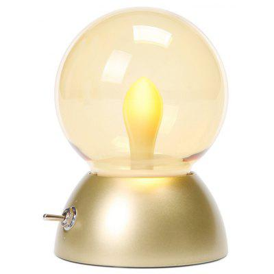 Retro Night Light Candle Bulb Energy Saving Lamp