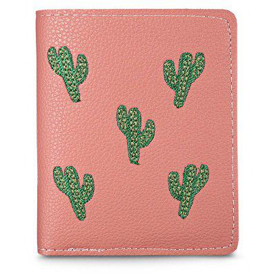 Guapabien Foldable Short Cactus Print Wallet Girls Card HolderWallets<br>Guapabien Foldable Short Cactus Print Wallet Girls Card Holder<br><br>Closure Type: Snap Fastener<br>Color: Black, Deep Pink, Light Pink, Blackish Green<br>Embellishment: Pattern<br>Gender: For Women<br>Height: 11.5<br>Interior: Interior Compartment<br>Length(CM): 9.5<br>Main Material: PU Leather<br>Package Contents: 1 x Short Wallet<br>Package size (L x W x H): 10.00 x 2.00 x 12.00 cm / 3.94 x 0.79 x 4.72 inches<br>Package weight: 0.0780 kg<br>Pattern Type: Plant<br>Product weight: 0.0760 kg<br>Style: Preppy Style<br>Wallets Type: Card Wallets<br>Width: 1.5