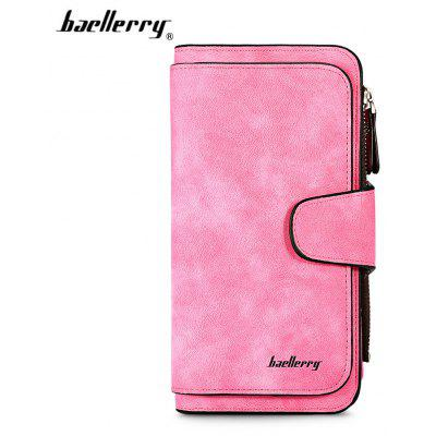 Baellerry Women Long Wallet PU Leather Clutch Coin Purse