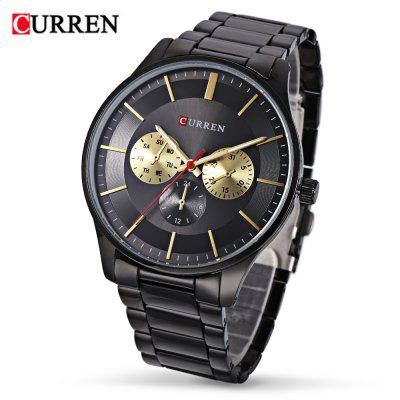 Curren 8282 Male Quartz Watch