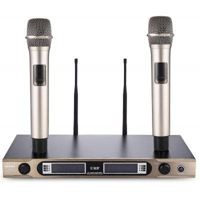 WEISRE U - 3316 Transmitter Dual Channel Microphone Set