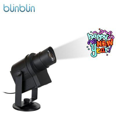 blinblin SHOW 1 LED Projector Light with 6 Pattern Slide