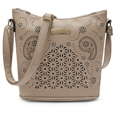 Guapabien Women Hollow Out Bucket Crossbody Shoulder BagCrossbody Bags<br>Guapabien Women Hollow Out Bucket Crossbody Shoulder Bag<br><br>Closure Type: Zipper<br>Embellishment: Hollow Out<br>Gender: For Women<br>Handbag Size: Small(20-30cm)<br>Handbag Type: Bucket Bag<br>Interior: Interior Zipper Pocket, Interior Compartment, Cell Phone Pocket<br>Main Material: PU<br>Occasion: Versatile<br>Package Contents: 1 x Crossbody Bag<br>Package size (L x W x H): 15.00 x 6.00 x 15.00 cm / 5.91 x 2.36 x 5.91 inches<br>Package weight: 0.3000 kg<br>Pattern Type: Solid<br>Product size (L x W x H): 27.00 x 12.00 x 25.00 cm / 10.63 x 4.72 x 9.84 inches<br>Product weight: 0.2900 kg<br>Style: Fashion