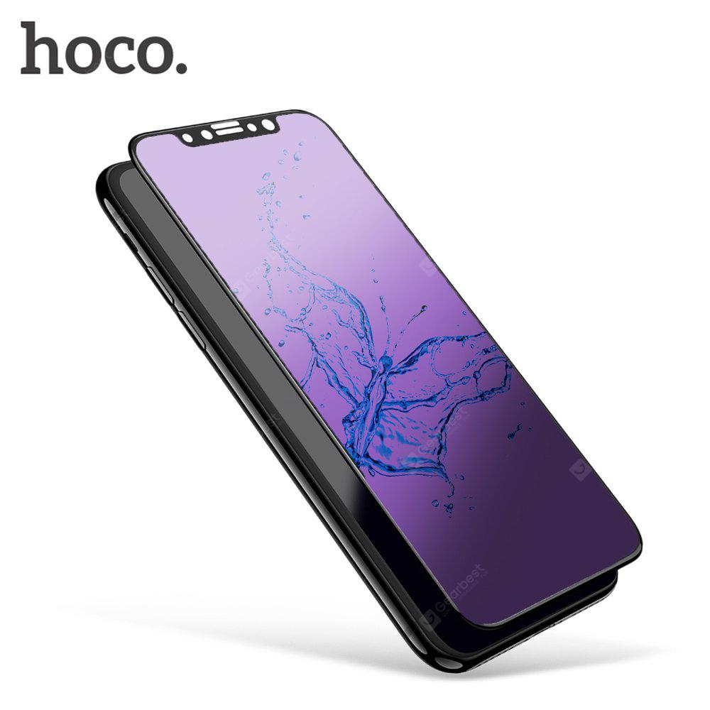 HOCO 3D Anti-blue Tempered Glass Film for iPhone X 0.25mm
