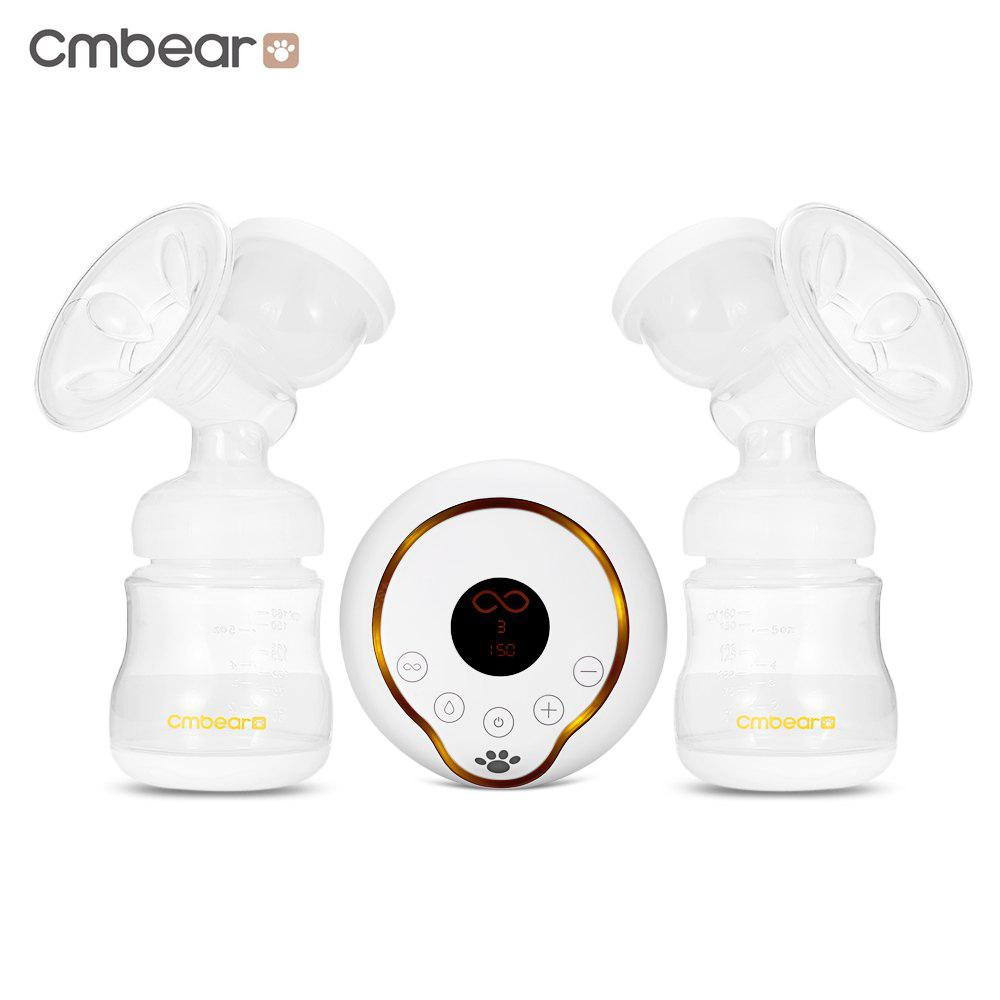 Cmbear Massage PP BPA Free Suction USB Electric Breast Pump