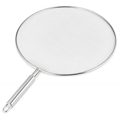 Stainless Steel Grease Splatter Screen Fine Mesh 29cm