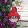 Snowman Ball Hanging Ornament Gift Christmas Tree Decoration - RED