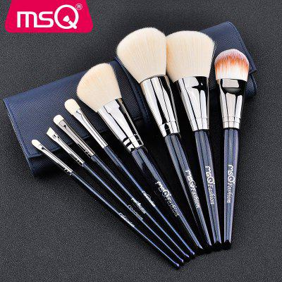 MSQ 8PCS Face Soft Makeup Brushes