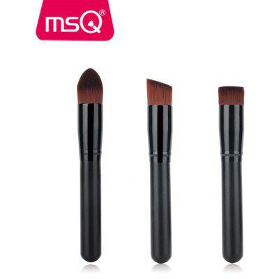 MSQ 3PCS Makeup Foundation Powder Brushes