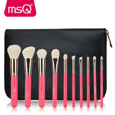 MSQ 10PCS Face Makeup Brushes