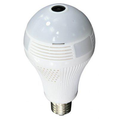 LED Light Bulb with 360 Degree Panoramic Camera