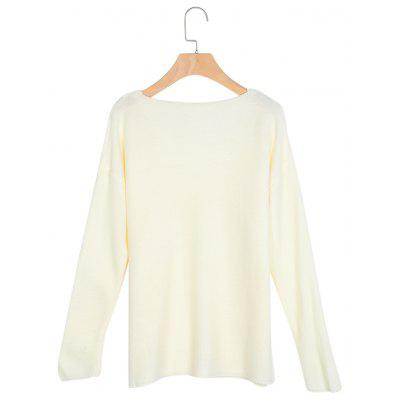 V Neck Long Sleeve Slit Knitted Women BlouseSweaters &amp; Cardigans<br>V Neck Long Sleeve Slit Knitted Women Blouse<br><br>Collar: V-Neck<br>Elasticity: Micro-elastic<br>Material: Acrylic<br>Package Contents: 1 x Blouse<br>Sleeve Length: Full<br>Style: Casual<br>Type: Pullovers<br>Weight: 0.3200kg