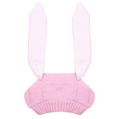 Infant Knitted Cute Rabbit Ears Baby Beanie Hat Warm Cap 7 colors rabbit ears beanie baby girls boys toddler cotton soft turban knot cap beanie hat rabbit ears knot child caps