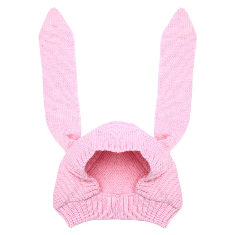 Infant Knitted Cute Rabbit Ears Baby Beanie Hat Warm Cap