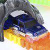 LED Light Racing Track Car Toy for Children - COLORMIX
