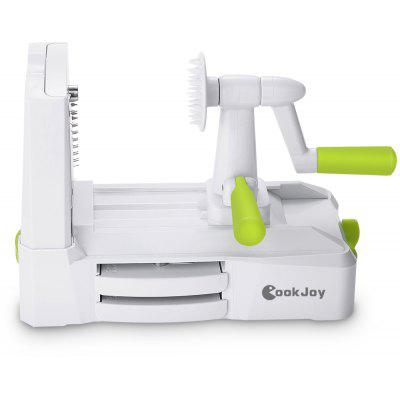 COOKJOY B435 - A Vegetable Slicer with 5 Blade