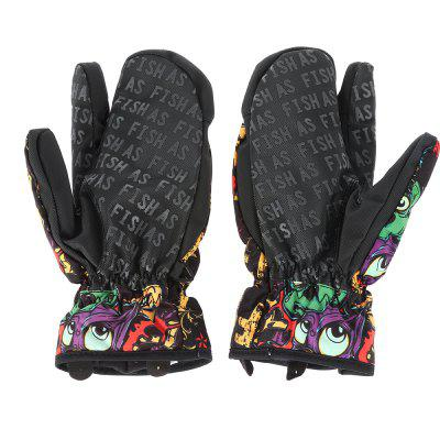 Thicken Warm Skiing GlovesOther Camping Gadgets<br>Thicken Warm Skiing Gloves<br><br>Gender: Unisex<br>Package Content: 1 x Pair of Gloves<br>Package size: 25.00 x 12.00 x 7.00 cm / 9.84 x 4.72 x 2.76 inches<br>Package weight: 0.2090 kg<br>Product weight: 0.1630 kg<br>Type: Skiing Gloves