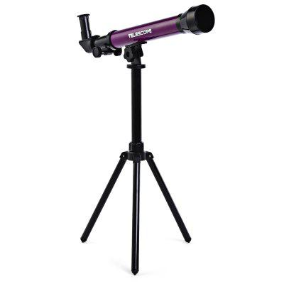 CHN AOHUA 3341 Child Education Astronomy Telescope ToyOutdoor Fun &amp; Sports<br>CHN AOHUA 3341 Child Education Astronomy Telescope Toy<br><br>Age Range: &gt; 5 years old<br>Package Contents: 1 x Telescope, 1 x Tripod, 3 x Multi-magnification Eyepiece, 1 x English Manual<br>Package Size(L x W x H): 47.50 x 9.00 x 22.00 cm / 18.7 x 3.54 x 8.66 inches<br>Package weight: 0.9100 kg<br>Product weight: 0.8900 kg
