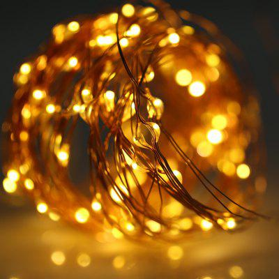 5M 50 LEDs Copper Wire Fairy String Light AA BatteryLED Strips<br>5M 50 LEDs Copper Wire Fairy String Light AA Battery<br><br>Package Contents: 1 x Copper Wire String Light with Battery Box<br>Package Size(L x W x H): 8.50 x 7.50 x 2.50 cm / 3.35 x 2.95 x 0.98 inches<br>Package weight: 0.0450 kg