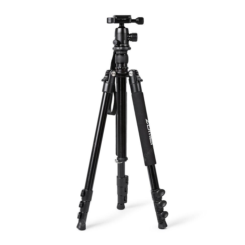 BLACK Zomei Q555 Aluminum Alloy Portable Camera Tripod