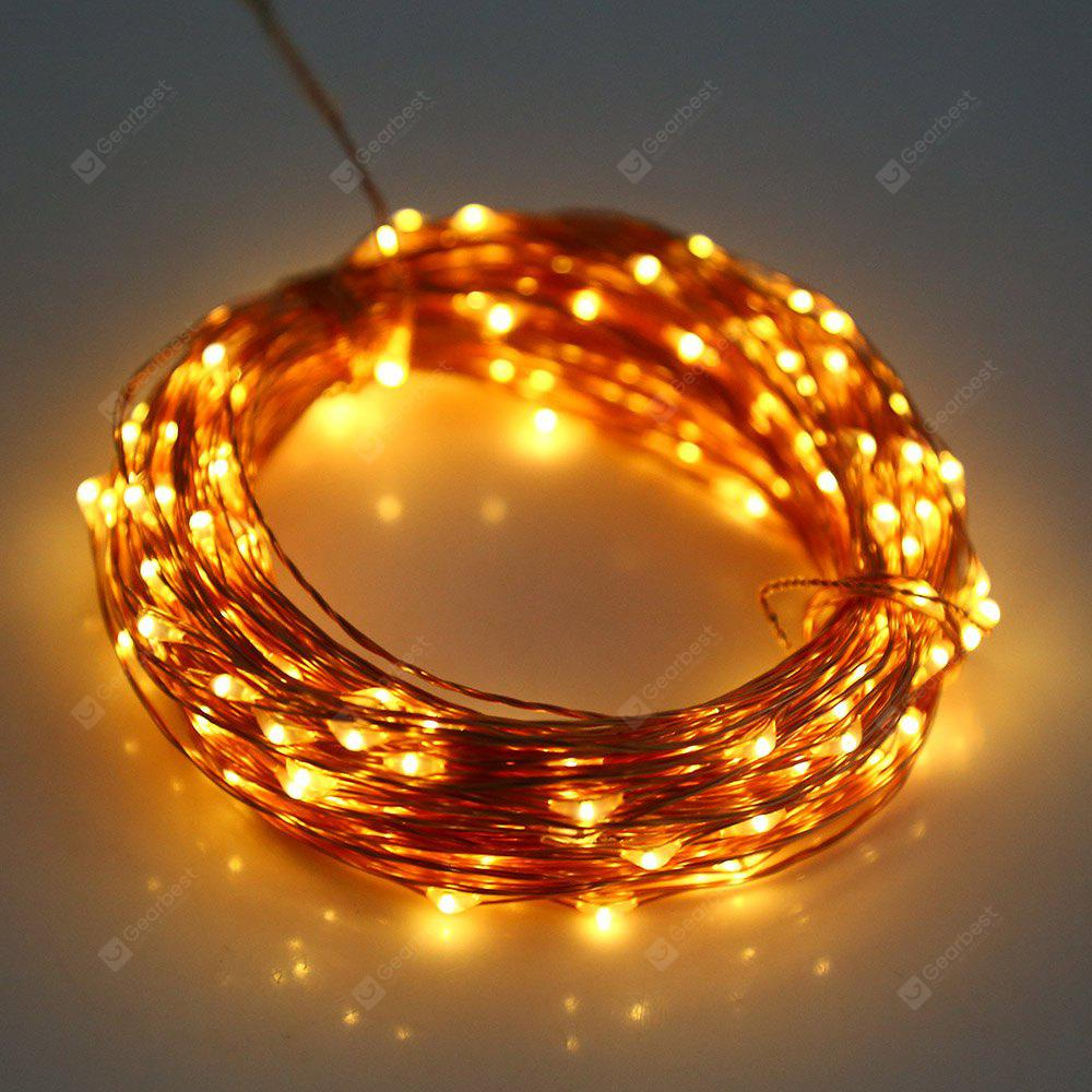 3M 30 LEDs Copper Wire Fairy String Light AA Battery | Gearbest
