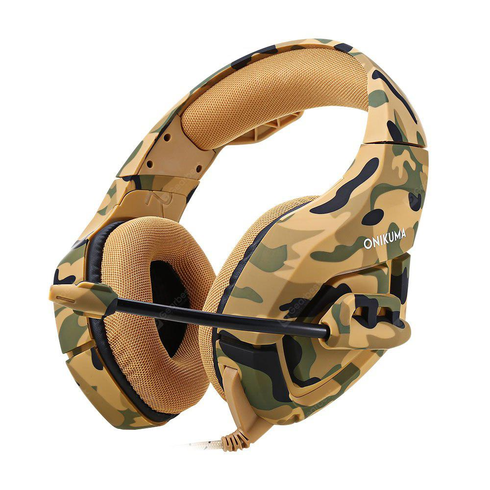 Onikuma K1 Stereo Gaming Headset 1916 Free Shipping Ems Adjustable Headband Army Camo For Baby Earmuff