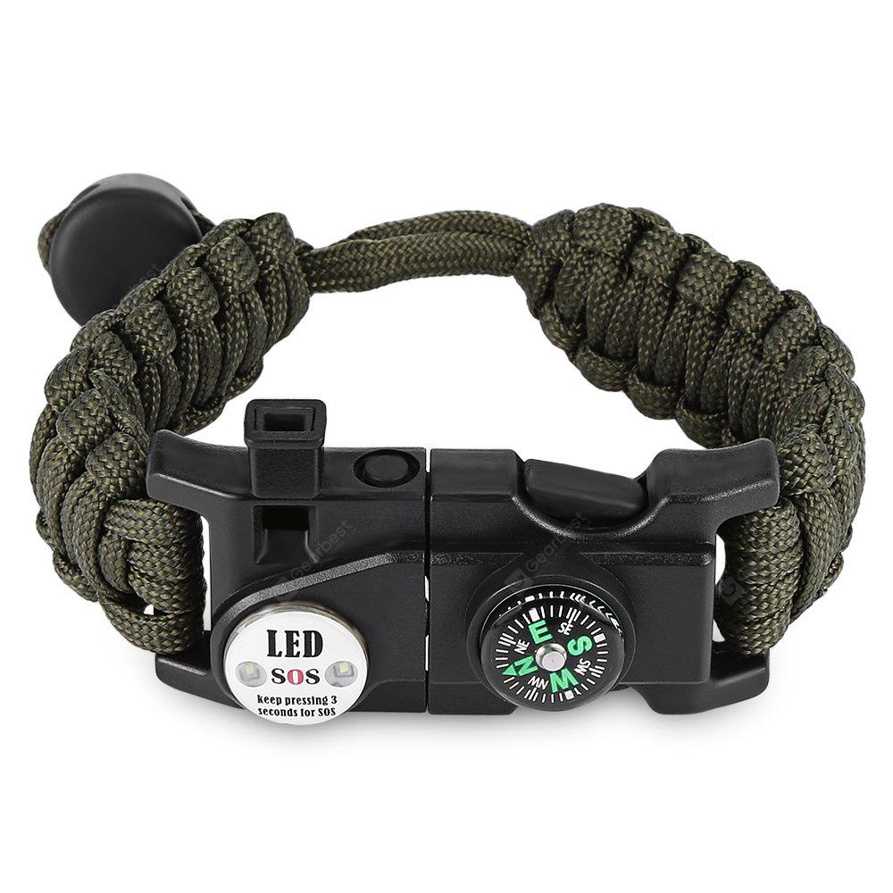 Multifunktionale Multifunktions-Paracord Armband