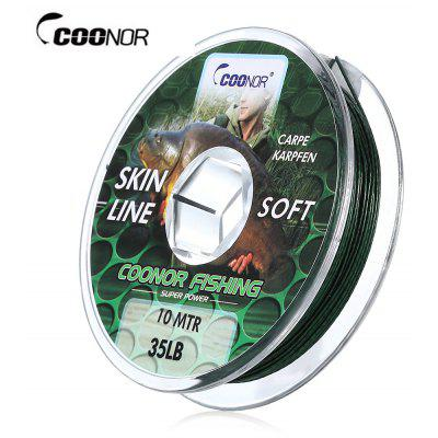 COONOR 10M PE Braided Multifilament Skin Fishing Line