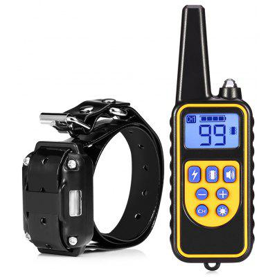 800m Waterproof Remote Control Dog Electric Training Collar