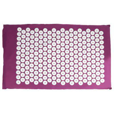 Yoga Pad Acupressure Massager Mat for Relieving Body Pains