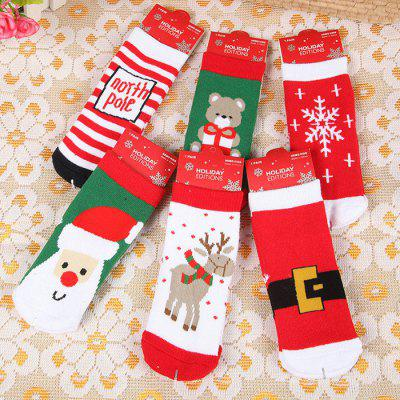 Creative Christmas Baby Socks Decorations 6 PairSocks<br>Creative Christmas Baby Socks Decorations 6 Pair<br><br>Gender: Unisex<br>Item Type: Socks&amp;Tights<br>Material: Cotton<br>Packabe Contents: 6 x Pair of Socks<br>Package size (L x W x H): 25.00 x 20.00 x 5.00 cm / 9.84 x 7.87 x 1.97 inches<br>Package weight: 0.1650 kg<br>Pattern: Animal<br>Product size (L x W x H): 12.00 x 7.00 x 4.00 cm / 4.72 x 2.76 x 1.57 inches<br>Product weight: 0.1600 kg