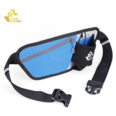 Buy BLUE Free Knight Running Anti-theft Waist Bag for $4.77 in GearBest store