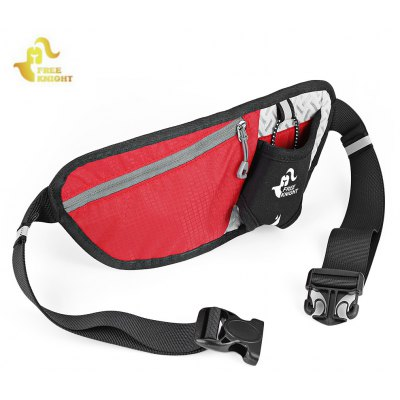 Buy RED Free Knight Running Anti-theft Waist Bag for $4.77 in GearBest store