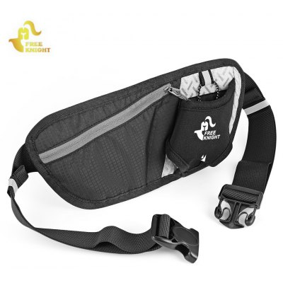 Buy BLACK Free Knight Running Anti-theft Waist Bag for $4.77 in GearBest store