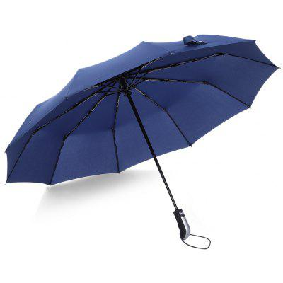 Buy DEEP BLUE Automatic Windproof Umbrella for $18.90 in GearBest store