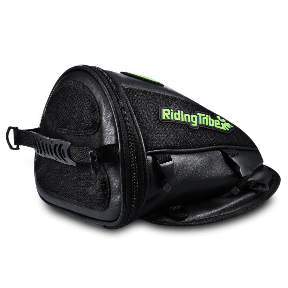 Gearbest Riding Tribe G - XZ - 017 Motorcycle Multifunctional Tail Bag - BLACK