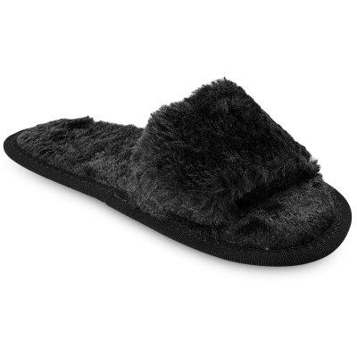 Female Winter Warm Flat Solid Color Noiseless Fur SlippersSlippers &amp; Flip-Flops<br>Female Winter Warm Flat Solid Color Noiseless Fur Slippers<br><br>Available Size: 35-36, 37-38, 39-40<br>Gender: For Women<br>Heel Type: Flat Heel<br>Outsole Material: Rubber<br>Package Contents: 1 x Pair of Fur Slippers<br>Pattern Type: Solid<br>Season: Winter<br>Shoe Width: Medium(B/M)<br>Slipper Type: Indoor<br>Style: Sweet<br>Upper Material: Fur<br>Weight: 0.2290kg