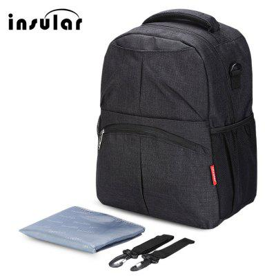 Insular Mummy Maternity Backpack Baby Diaper Nappy Bag