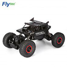 Flytec 9118 1:18 Alloy 2.4G Four-wheel RC Climbing Rock Car