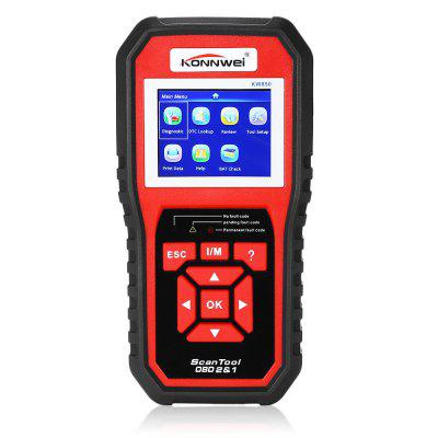 Konnwei KW850 CAN OBD2 / EOBD Scanner for Vehicles